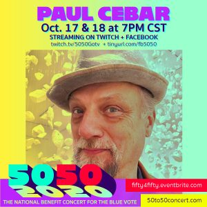 Paul chimes in to Get Out The Vote with Souls to The Polls 50/50 webcast event Oct.17-18